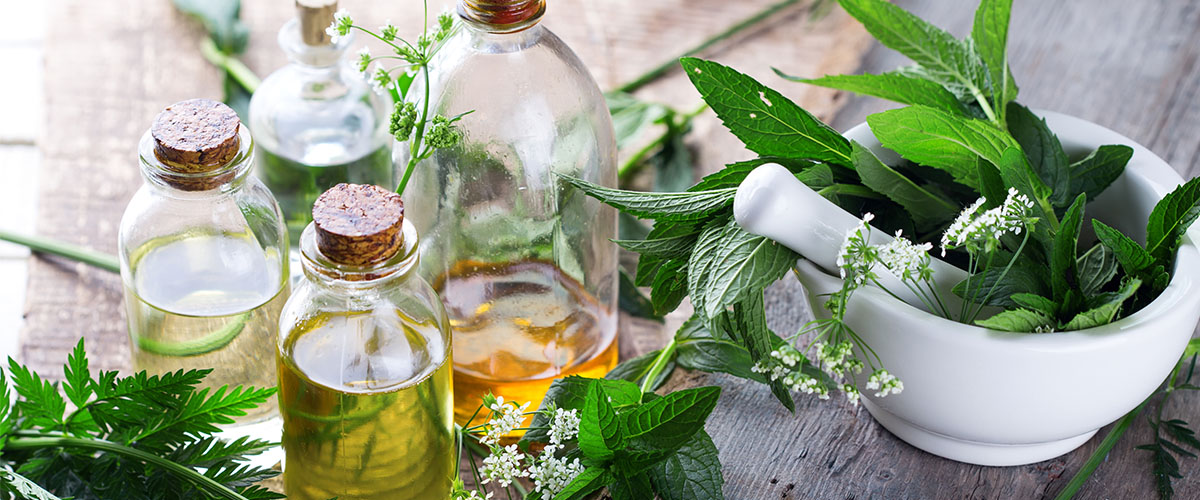 Homemade herbal beauty treatments